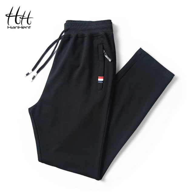 HanHent Cotton Casual Mens Track Pants