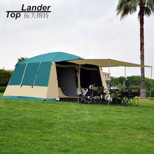 Load image into Gallery viewer, Super Large Camping Tent Waterproof Family 4 Season 2 Room Cabin Tent Double Layer 10 12 Person Outdoor Camping Winter Tent