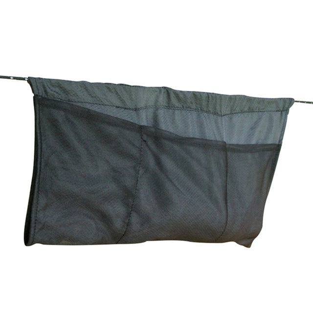 Outdoor gadget hammock debris bag