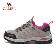 Load image into Gallery viewer, CAMEL Women Hiking Shoes Suede Leather
