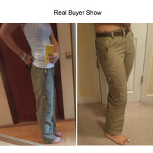 Load image into Gallery viewer, Nylon Removable Waterproof Hiking Pants Women/Men