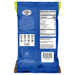 Perfection Snacks Restaurant Style Tortilla Chips, White Corn, Sea Salt, 12 Ounce (Pack of 2)