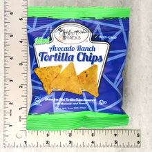Load image into Gallery viewer, 1oz Avocado Ranch Mini Tortilla Chips 20 Count