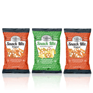 Variety Pack - Two 7oz Original Snack Mix and One 7oz Guacamole Ranch Snack Mix