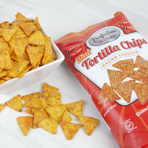 Nacho Cheddar Mini Tortilla Chips