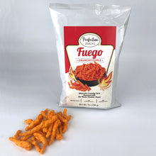 Load image into Gallery viewer, Crunchy Curls Variety 3 Pack - 2 Fuego + 1 Jalapeño Cheddar