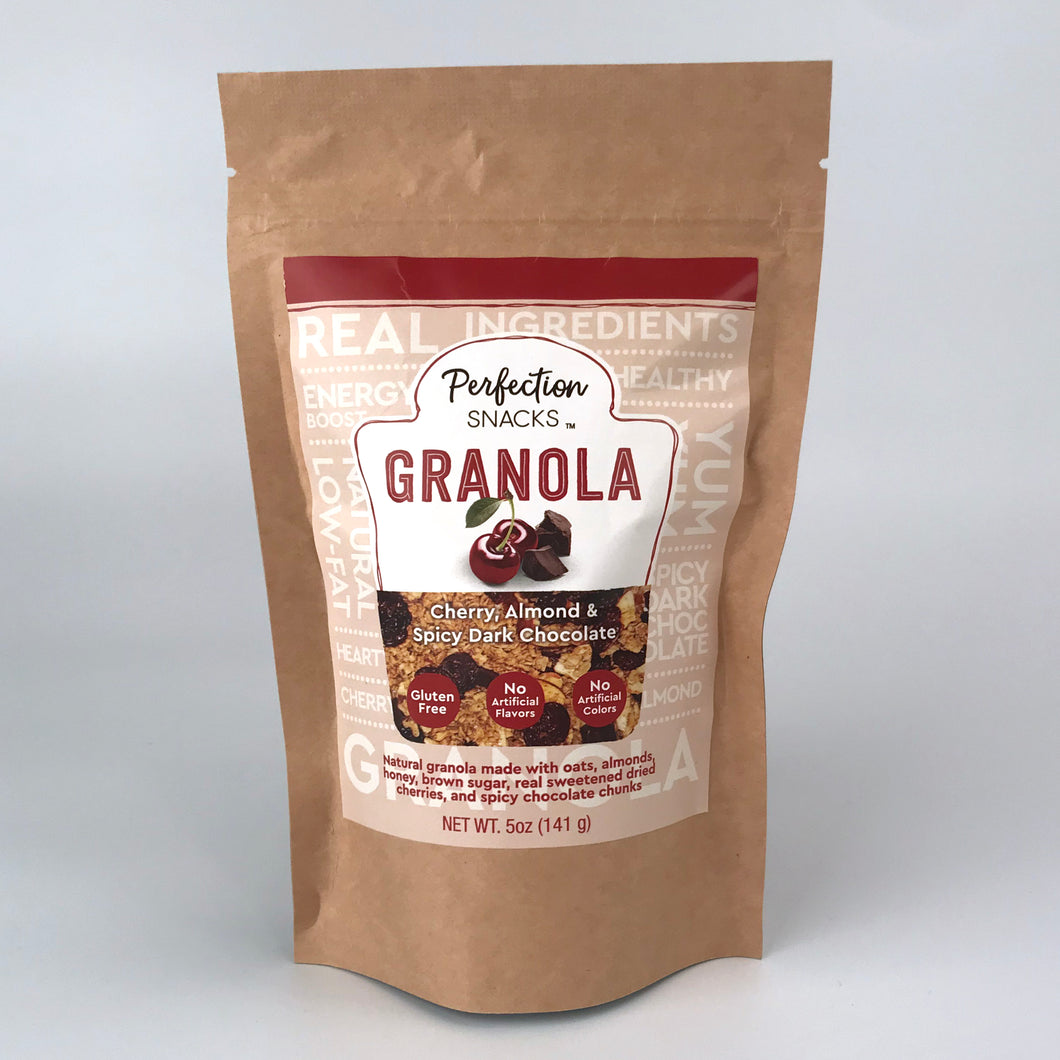 Granola Cherry, Almond and Spicy Chocolate 5oz 4-Pack