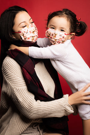 Joyful Christmas Adult 3-ply Surgical Mask