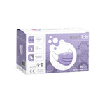 Purple Child Size 3-Ply Surgical Face Mask (50-pack)