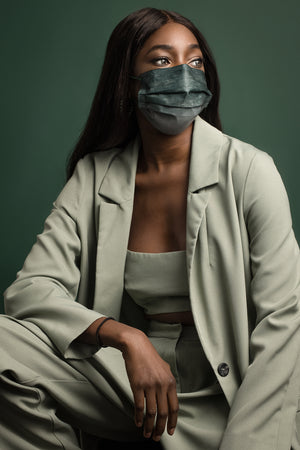 Basil Ombré Adult 3-ply Surgical Mask 2.0
