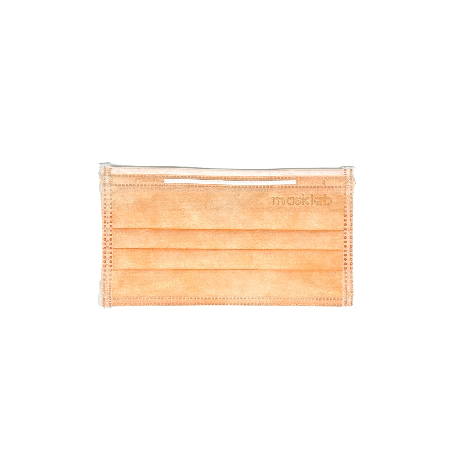 Orange 3-Ply Surgical Face Mask (Individually-wrapped 25-pack)