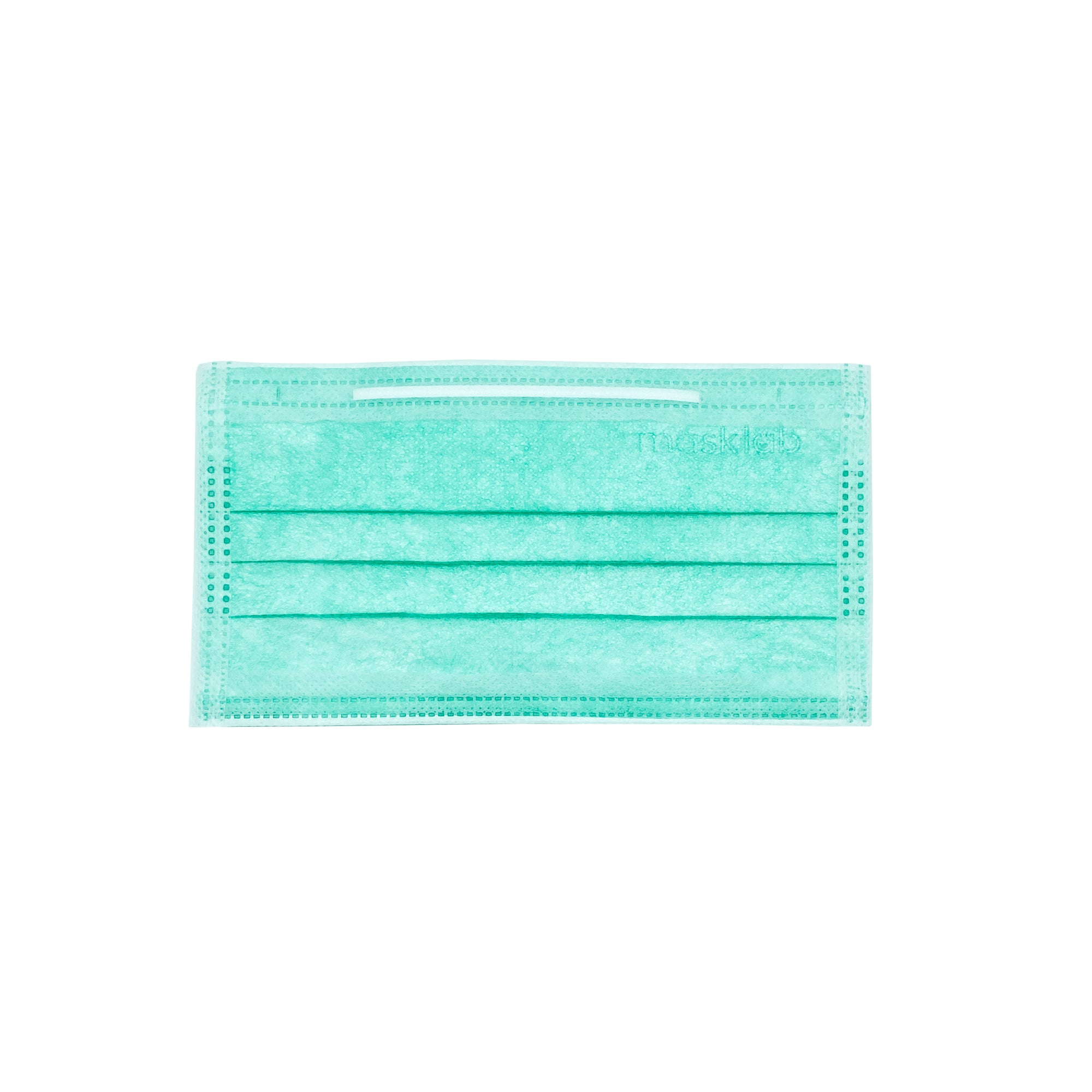 Green 3-Ply Surgical Face Mask (Individually-wrapped 25-pack)
