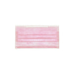 Pink 3-Ply Surgical Face Mask (Individually-wrapped 25-pack)