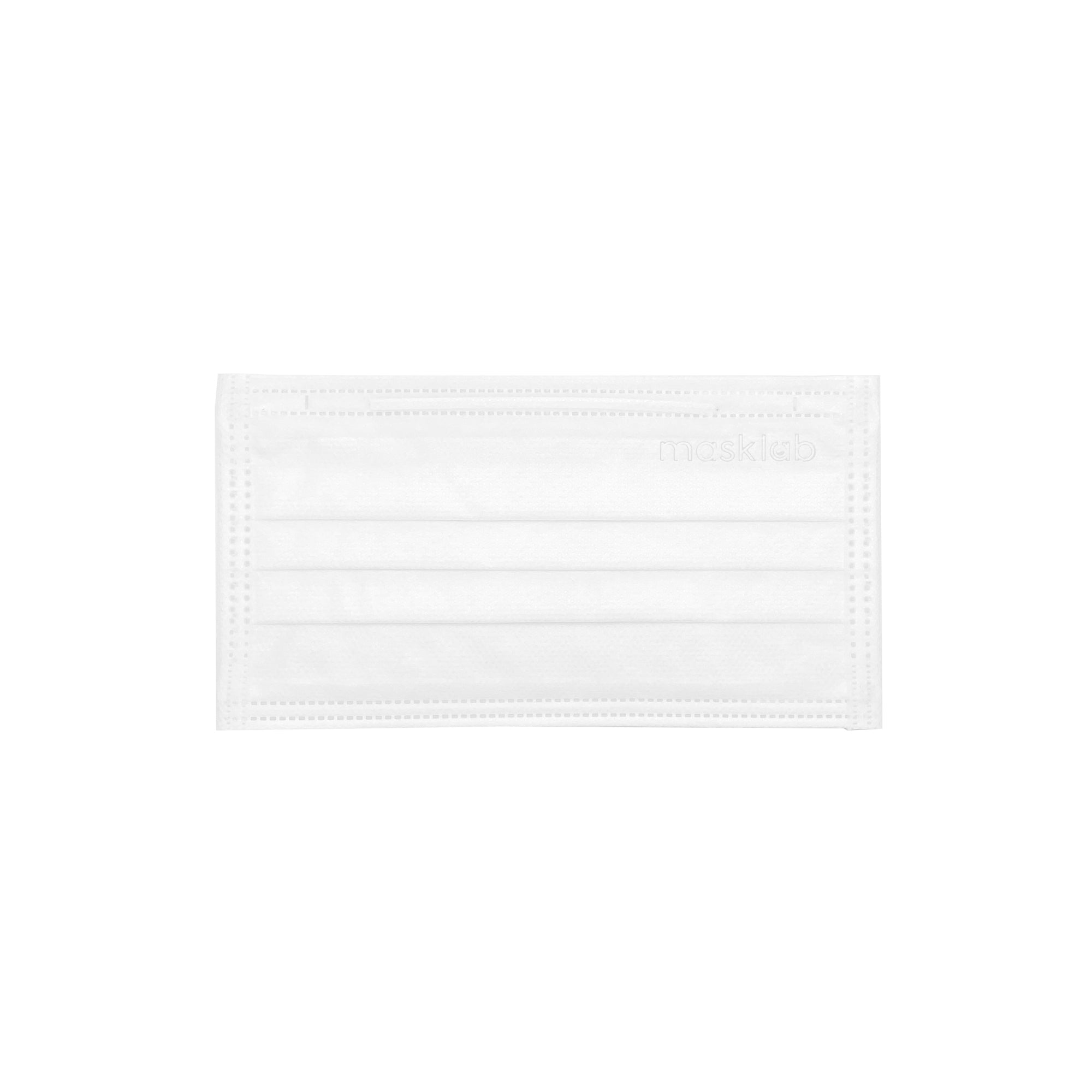 White 3-Ply Surgical Face Mask (Individually-wrapped 25-pack)
