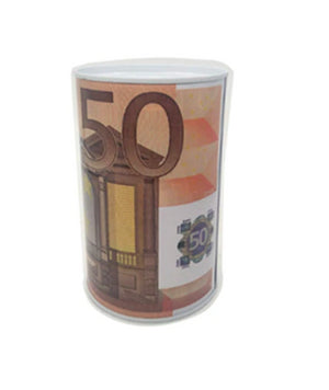 Tirelire euro et dollar