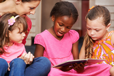 Discover benefits of reading aloud, as well as some reading helpers for kids that can make this technique even more fun.