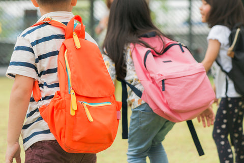 One way to deal with your child's back-to-school anxiety is to set a routine.