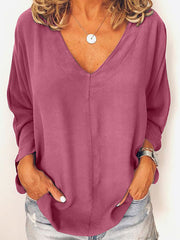 Frauen Simple & Basic Langarm-Shirts & Tops
