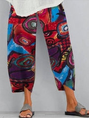 Frauen Printed Ferien Pants