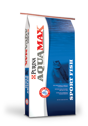 Image of Purina® AquaMax® Sport Fish MVP fish food 50 lb. bag