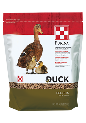 Purina® Duck Feed Pellets 5 lb bag