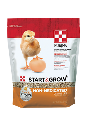 Purina® Start & Grow® poultry feed 5 lb bag