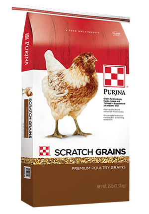 Image of Purina® Scratch Grains Poultry Supplemental 25 lb. bag