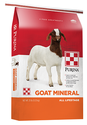 Image of Purina® Goat Mineral 25 lb. bag