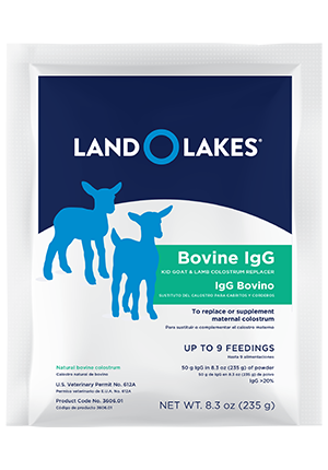 LAND O LAKES® Colostrum Replacement for Kid Goats + Lambs 8.3oz pouch