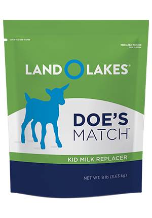 Image of LAND O LAKES® Doe's Match® Kid Milk Replacer 8lb feed pouch