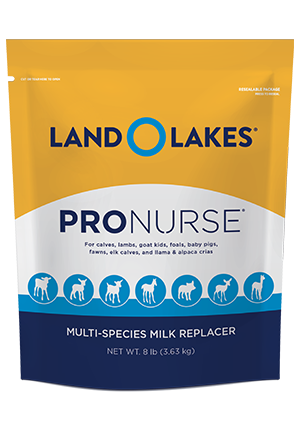 LAND O LAKES® ProNurse® Specialty Milk Replacer 8lb pouch