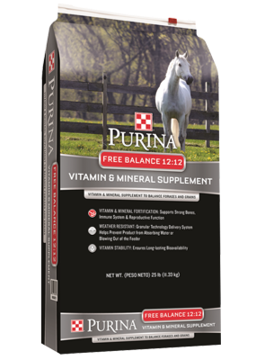 Free Balance® 12:12 Vitamin and Mineral Supplement horse feed bag