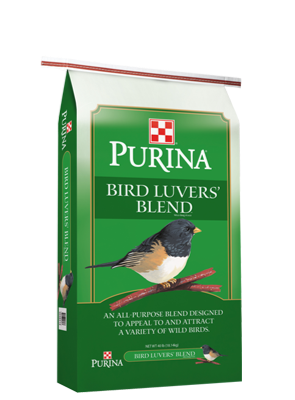 Purina® Bird Luvers' Blend Wild Bird Food 40lb bag