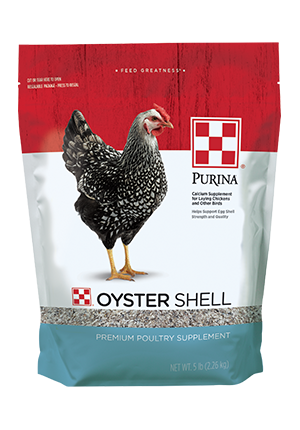 Image of Purina® Oyster Shell poultry feed package