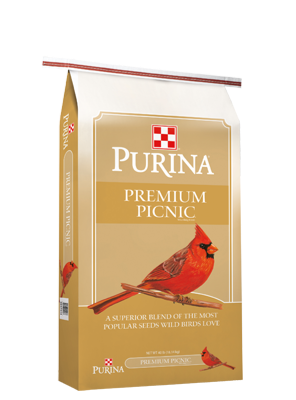 Purina® Premium Picnic® Wild Bird Food 40lb bag
