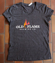 Load image into Gallery viewer, V-Neck Old Flame Shirt