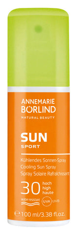 17,95€/100ml ANNEMARIE BÖRLIND SUN SPORT Kühlendes Sonnen-Spray LSF 30 100ml
