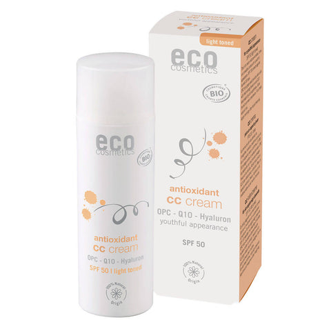 69,80€/100ml Eco Cosmetics CC Cream LSF 50 hell getönt 50ml