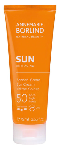 30,60€/100ml ANNEMARIE BÖRLIND SUN ANTI AGING Sonnen-Creme LSF 50 75ml