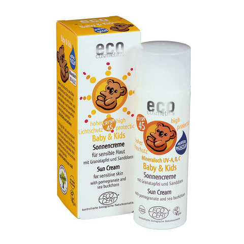 25,80€/100ml Eco Cosmetics Baby & Kids Sonnencreme LSF 45 50ml