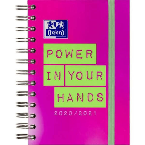 Schülerkalender 12x18cm 1 Tag/Seite Power in your Hands 2020/2021