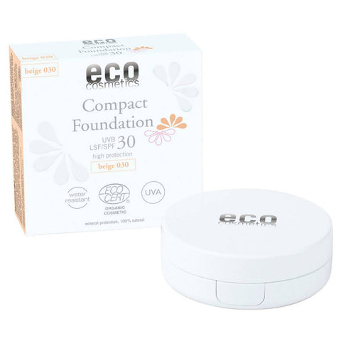 279€/100g Eco Cosmetics Compact Foundation LSF30 030 Beige 10g