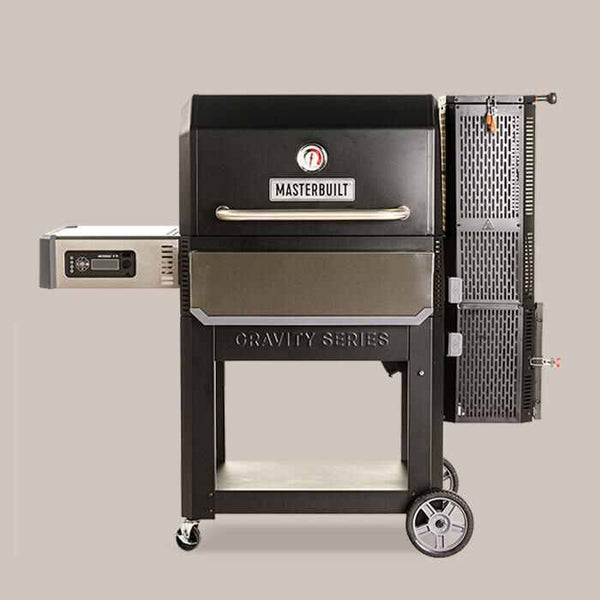 Gravity Series™ 1050 Digital Charcoal Grill + Smoker Closed