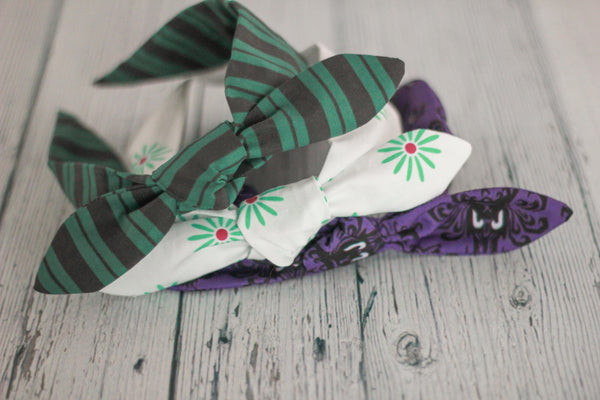 Haunted Mansion Bowbands