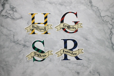 Hogwarts House Stickers