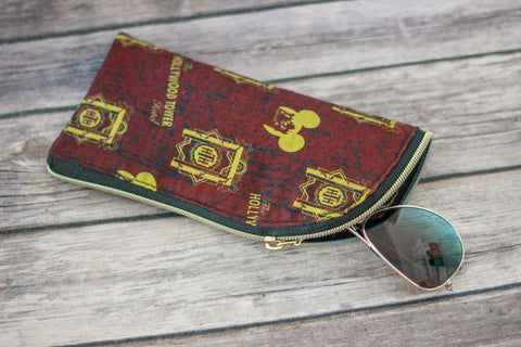 Hollywood Tower Hotel Sunglasses Pouch