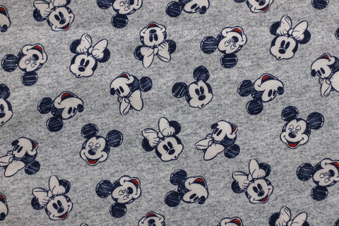 Mickey & Minnie Grey Mask
