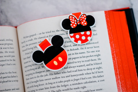 Mickey & Minnie Bookmarks