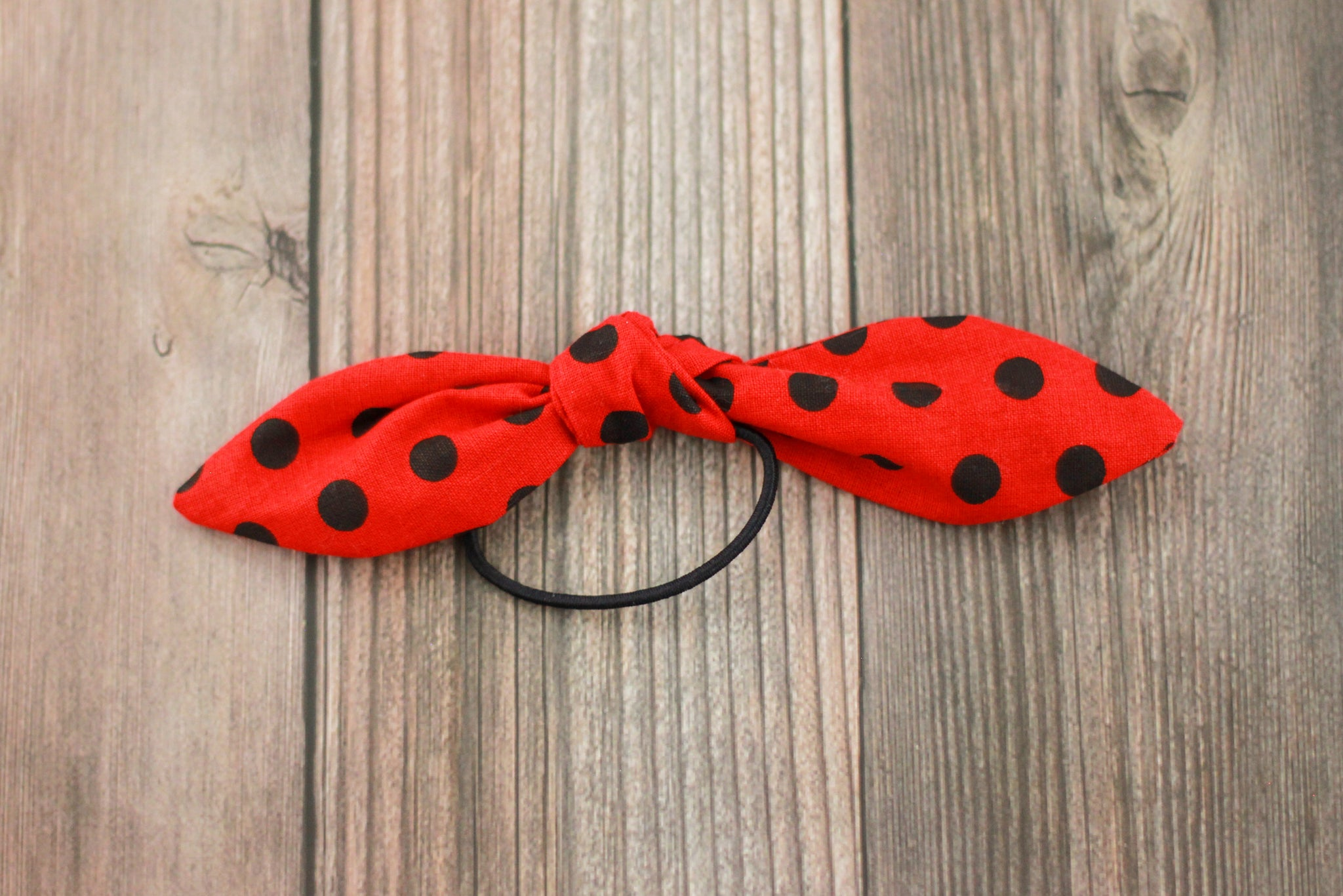 Mickey and Minnie Bow Hair Ties