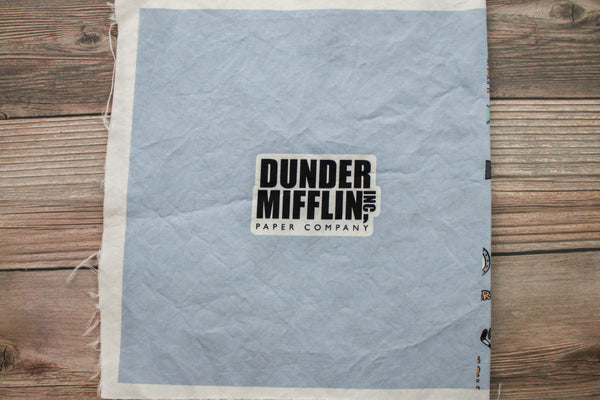 Dunder Mifflin Mask - Adult